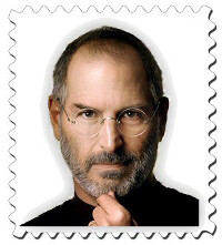 Steve Jobs' face to appear on a commemorative postage stamp in 2015