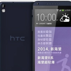 New images of HTC Desire 8 and HTC D310w show up