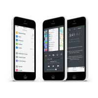 iOS 8 concept shows realistic merging of Control Center and multitasking