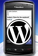 WordPress app for BlackBery coming soon
