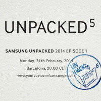 Samsung Unpacked 5 MWC 2014 event livestream: Galaxy S5 incoming