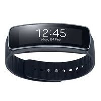Samsung Gear Fit brings a curved display to a health-tracking band