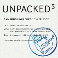Samsung posts full Galaxy S5 MWC event online: watch it here