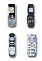 Kyocera showcases four new CDMA handsets