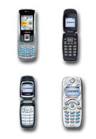 Kyocera showcases four new CDMA handsets