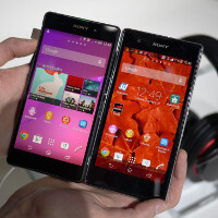 Sony Xperia Z2 versus Sony Xperia Z1/Z1S display comparison