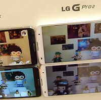The LG G Pro 2 flash is better than the one of the Note 3?
