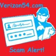 Warning: Verizon54.com wants to steal your Verizon Account