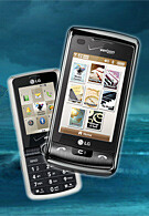 LG enV Touch and Glance are now available with Verizon