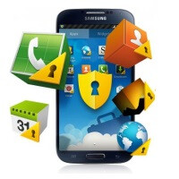 Samsung Galaxy devices with KNOX receive the