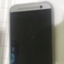 Silver HTC M8 / All New One photographed in the wild?