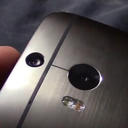 All New HTC One (M8) shown in video next to the 2013 One