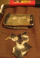 Man buys Pre and then smashes his iPhone