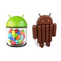 Android 4.4 hits 2.5% adoption and Jelly Bean up to 62%