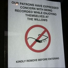San Francisco bar in a somewhat techie area of the city bans Google Glass