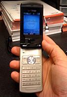 Casio Exilim C721 live photos in a Verizon store
