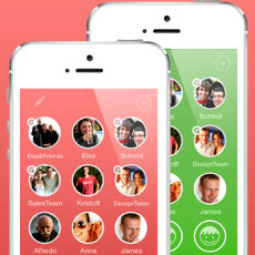 AwesomeDial breathes life in your iPhone contacts, lets you group message them