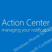 "More details leak about ""Action Center"" with Windows Phone 8.1 notification space"