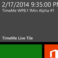 Windows Phone 8.1 to allow one-minute Live Tile updates, references to the next WP 8.5 found in the SDK