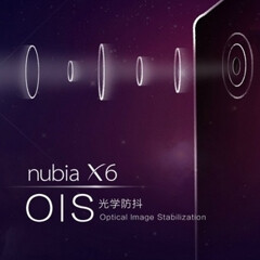 ZTE's new Nubia X6 will have Optical Image Stabilization
