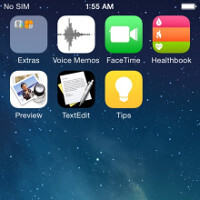 These could be the first screenshots from iOS 8, new apps spotted