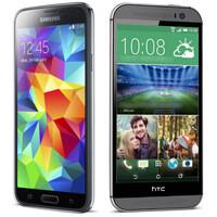 Samsung Galaxy S5 vs HTC One (M8): preliminary comparison
