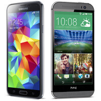 Samsung Galaxy S5 vs HTC One (M8): preliminary comparison