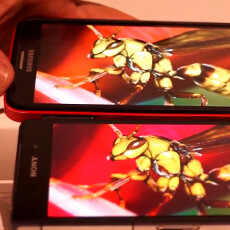 Xperia Z2 and Note 3 screens get compared on video, guess which one looks more vivid