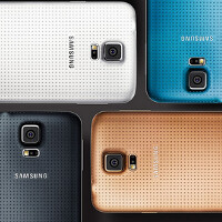 Gold Samsung Galaxy S5 is an exclusive in the U.K. for Vodafone