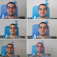 Front-facing camera comparison: LG G Pro 2 vs LG G2, Galaxy Note 3, Galaxy S4, HTC One (2013),  Xperia Z1, iPhone 5s, and Nexus 5