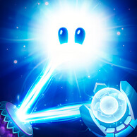 Reflect the light in order to win at God of Light, an Android/iOS physics puzzle game