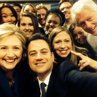 Three Clintons and a Kimmel can't beat Ellen