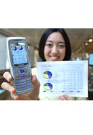 Samsung introduces 'file viewing' mobile phones