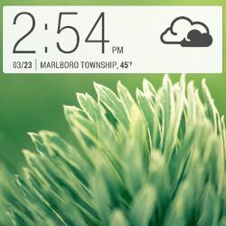 htc digital clock widget apk