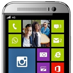 Some HTC One M8 design elements to be used for a new Windows Phone handset?