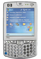 HTC manufactured HP iPAQ hw6500 preview