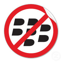 Half of financial service firms' IT executives plan on leaving BlackBerry for good next year