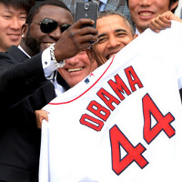 Red Sox star David Ortiz signed deal with Samsung just one day before he shot selfie with Obama