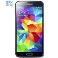 Likely Samsung Galaxy S5 model with Snapdragon 805 and a 5.2