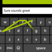 "Watch ""Word Flow,"" coming on Windows Phone 8.1, set a new record for fastest text on a touch-screen"
