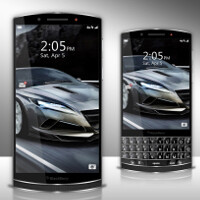 Would you buy a BlackBerry smartphone if it looked like this?