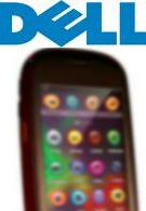 Yet another blurry shot of Dell's Android phone