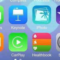 Screenshot claims to be iOS 8 running on an iPhone 6 (and hints at the iWatch)