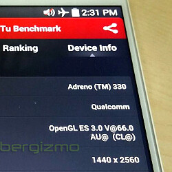 Alleged picture of the LG G3 appears, flaunting a Quad HD display and Snapdragon 801 processor