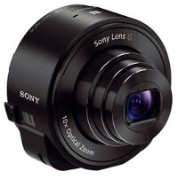 The Sony QX10/Sony QX100 now focus when you press the shutter half way