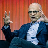 Data, data, data: Microsoft getting pushed into more change by Satya Nadella