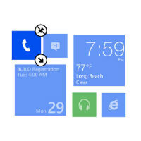 Windows Phone 8.1 allows you to pin websites with Live Tile support