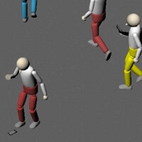 NTT DoCoMo produces a simulation about the dangers of texting while walking