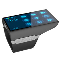 Rufus Cuff Monster is a wearable with a 3 inch screen, a web browser and more
