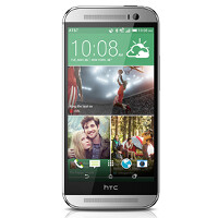 HTC One (M8) in Glacial Silver now available from AT&T